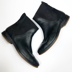 Timberland Chelsea Black Leather Boots Size 8.5